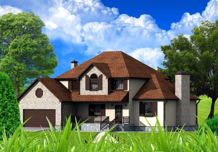 Каркасные дома Киев цена проекты Канадский каркасный